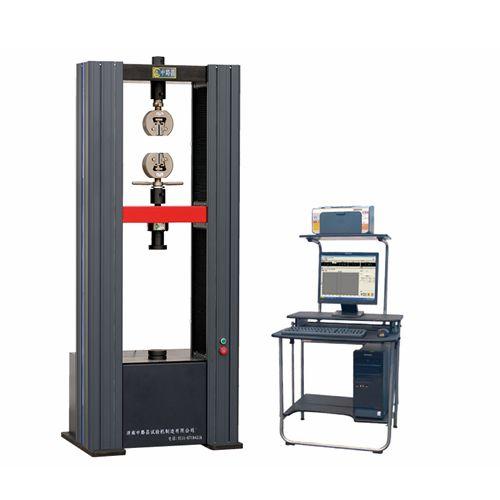 电子拉力试验机拉伸辅具安装过程