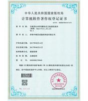 DLB系列叠加式力标准机软件著作权登记证书
