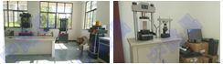 【湖北快讯】明鉴建筑工程检测中心万能材料试验机、压力试验机、<font color='red'>电子万能试验机</font>使用现场