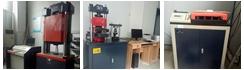【山东】山东一检测公司购买中路昌电子万能试验机、液压万能试验机、全自动抗折抗压试验机与钢筋弯曲试验机
