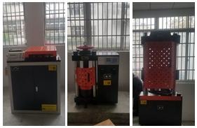 【安徽】安徽一检测公司购买<font color='red'>钢筋弯曲试验机</font>,数显式万能试验机,压力试验机安装调试完成