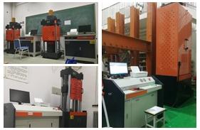 北京一大学购买200吨万能试验机,60吨万能试验机,300吨压力试验机2台 安装调试完成