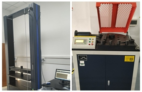 【湖北】湖北一检测公司购买微机控制环刚度试验机WDW-50M及<font color='red'>钢筋弯曲试验机</font>GW-40B安装调试完成