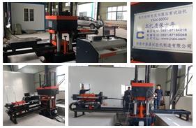 【扬州】江苏扬州一公司购买500吨电液伺服压剪试验机安装调试完成
