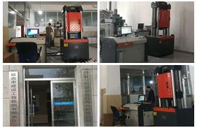 【吉林】延吉一建筑工程质量检测公司购买伺服万能试验机安装调试完成
