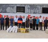 济南中路昌试验机公司参加区工信局组织的爱心企业帮扶活动