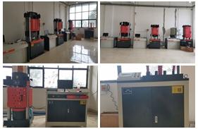【四川】四川检测公司购买伺服万能试验机WAW-300B、WAW-600D、WAW-1000D,全自动压力试验机等一批设备安装调试完成
