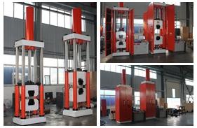 【山东】索具公司购买WAW-1000DL WAW-2000DL电液伺服<font color='red'>拉力试验机</font>顺利验收。