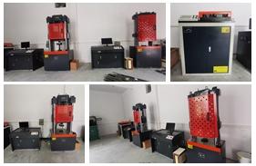 【广东】广东工程检测公司购买30吨、100吨伺服万能试验机,<font color='red'>钢筋弯曲试验机</font>等一批设备调试完成