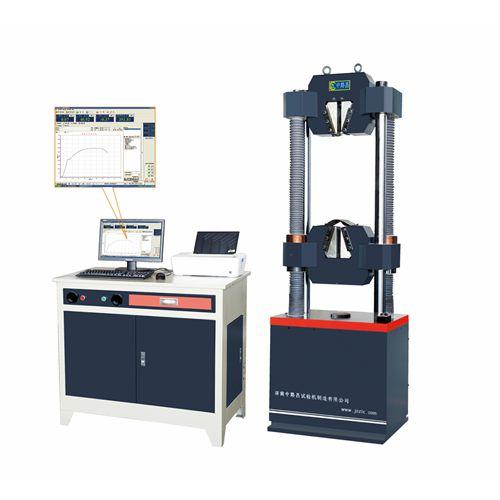 微机屏显式钢绞线专用试验机GWE-600B