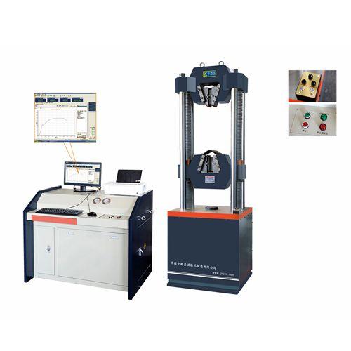 60吨微机控制电液伺服式钢绞线专用试验机GWA-600D