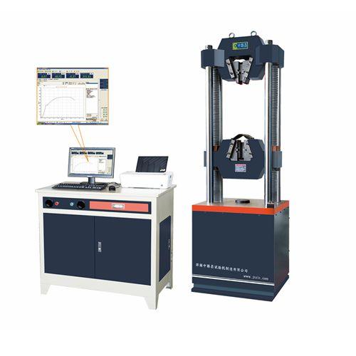 60吨微机屏显式钢绞线专用试验机GWE-600D